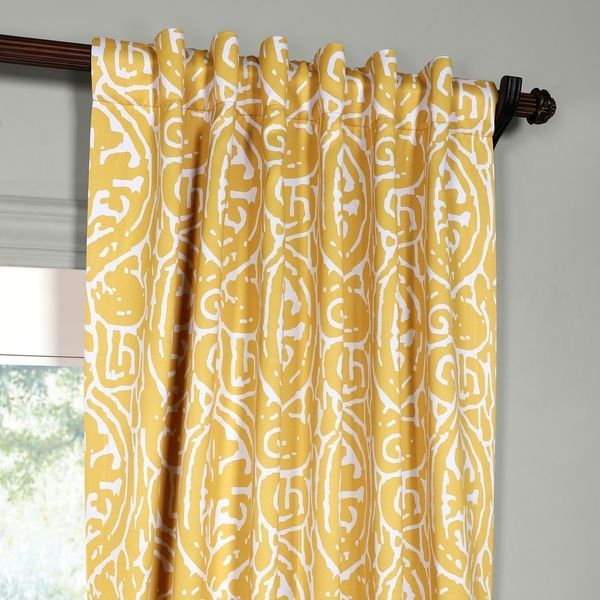 Featured Image of Abstract Blackout Curtain Panel Pairs