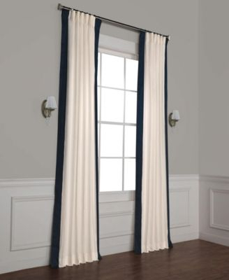 Exclusive Fabrics & Furnishings Vertical Color Block Panama Inside Vertical Colorblock Panama Curtains (Image 12 of 25)