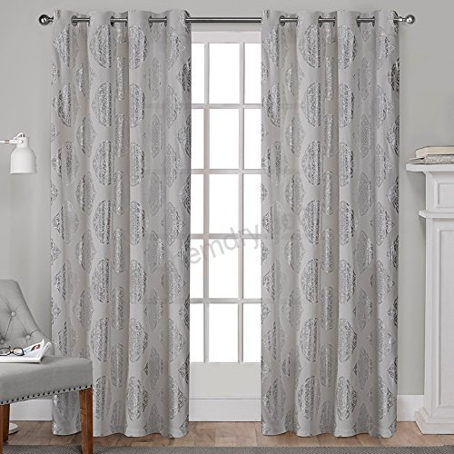Exclusive Home Curtains Augustus Grommet Top Window Curtain Throughout Kochi Linen Blend Window Grommet Top Curtain Panel Pairs (View 20 of 25)