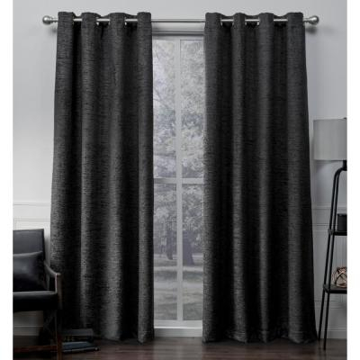 Exclusive Home Curtains Indoor/outdoor Solid Cabana Grommet Regarding Indoor/outdoor Solid Cabana Grommet Top Curtain Panel Pairs (View 21 of 25)