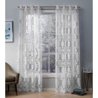 Exclusive Home Curtains Sateen Twill Weave Blackout Grommet Within Sateen Twill Weave Insulated Blackout Window Curtain Panel Pairs (View 13 of 25)