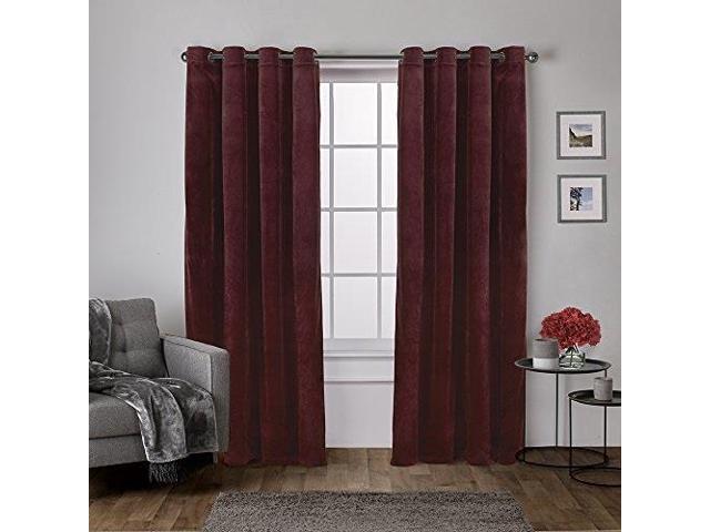 Featured Image of Velvet Heavyweight Grommet Top Curtain Panel Pairs