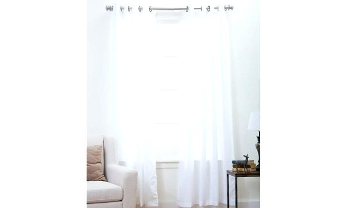 Extra Wide Grommet Curtains – Milfordlaino (View 11 of 25)