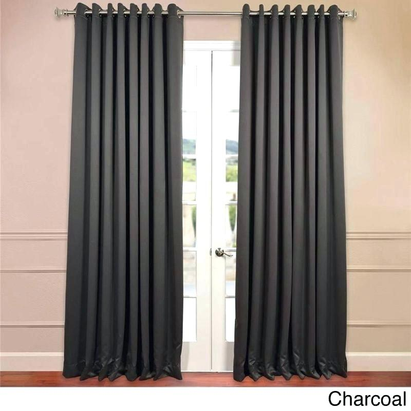 Extra Wide Sheer Curtains – Trackidz With Wavy Leaves Embroidered Sheer Extra Wide Grommet Curtain Panels (View 17 of 25)
