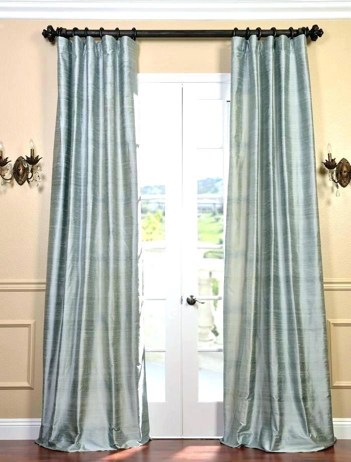 Faux Dupioni Silk Curtains – Vonosta (Image 11 of 25)