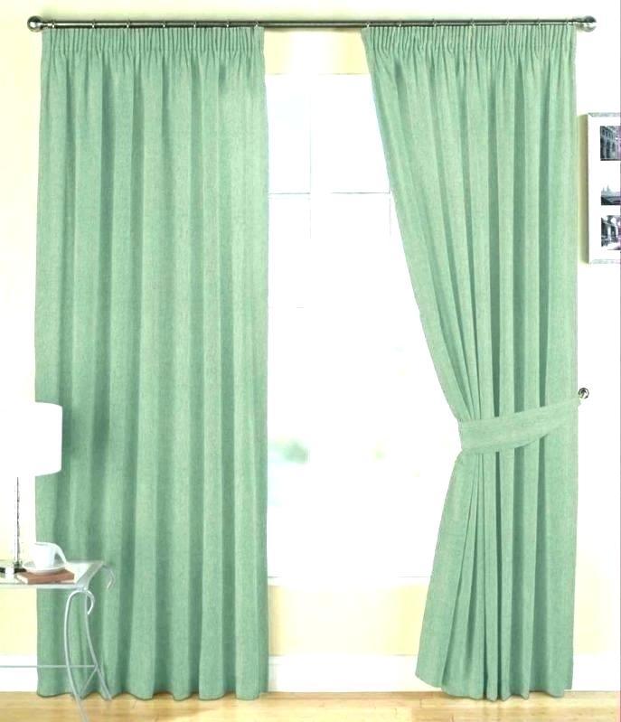 Green Drapes Peat Green Heritage Plush Velvet Curtain In W X Pertaining To Heritage Plush Velvet Curtains (Image 9 of 25)