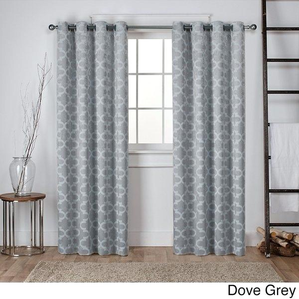 Grey Blackout Curtains – Muphconference2018 With Regard To Abstract Blackout Curtain Panel Pairs (Image 16 of 25)