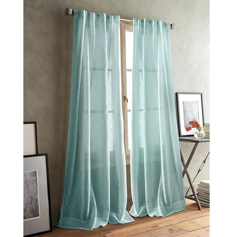 Grommet Sheer Curtains – Nplin182 Regarding Wavy Leaves Embroidered Sheer Extra Wide Grommet Curtain Panels (View 10 of 25)