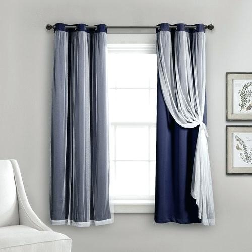 Grommet Sheer Light Filtering Window Panel Panels Abri Regarding Delano Indoor/outdoor Grommet Top Curtain Panel Pairs (Image 14 of 25)