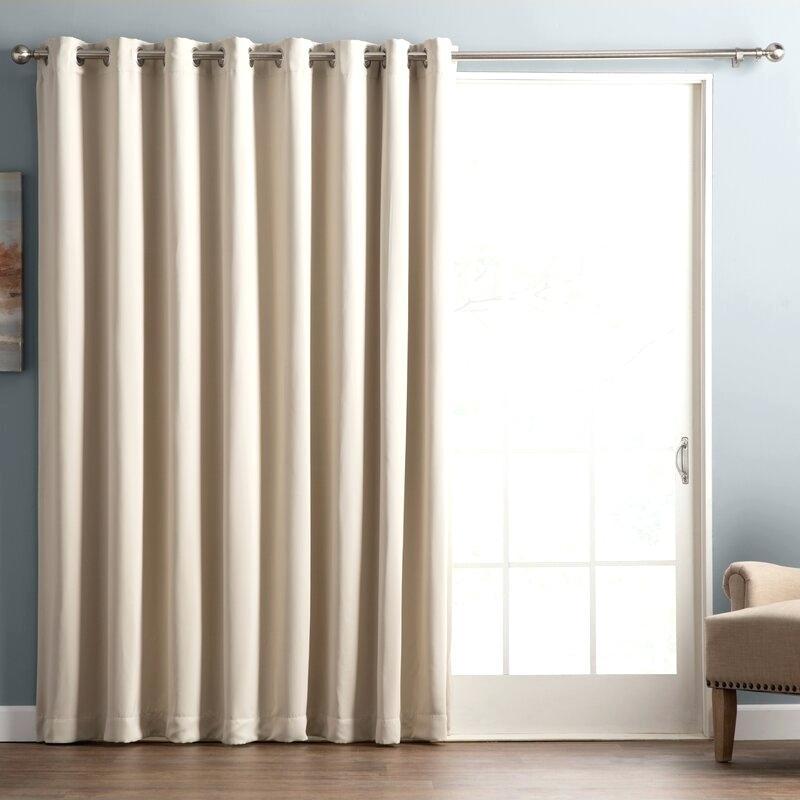 Grommet Top Outdoor Curtain Panel – Locatable Regarding Indoor/outdoor Solid Cabana Grommet Top Curtain Panel Pairs (View 3 of 25)