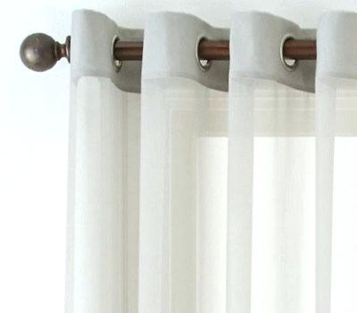 Grommet Top Sheer Curtains – Garettgroves Throughout Delano Indoor/outdoor Grommet Top Curtain Panel Pairs (Image 17 of 25)