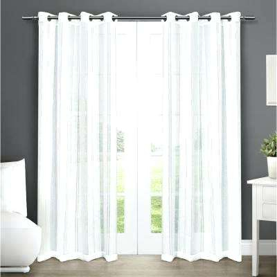 Grommet Top Sheer Curtains – Jelajah With Regard To Delano Indoor/outdoor Grommet Top Curtain Panel Pairs (Image 18 of 25)