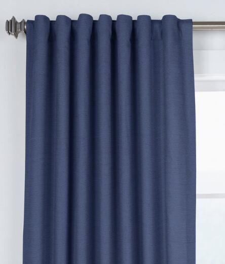 Hayden Grasscloth Lined Rod Pocket Curtains With Back Tabs Intended For Hayden Rod Pocket Blackout Panels (Image 13 of 25)