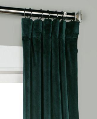 Heritage Plush Velvet 50 X 96 Curtain Panel | Color In 2019 With Regard To Heritage Plush Velvet Curtains (Image 13 of 25)