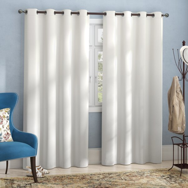 Hotel Curtains | Wayfair Throughout Classic Hotel Quality Water Resistant Fabric Curtains Set With Tiebacks (View 8 of 25)