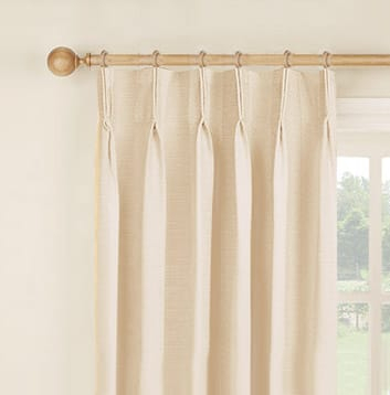 How To Hang Curtains | Easy To Follow & Detailed Guide On In Double Pinch Pleat Top Curtain Panel Pairs (Image 11 of 25)