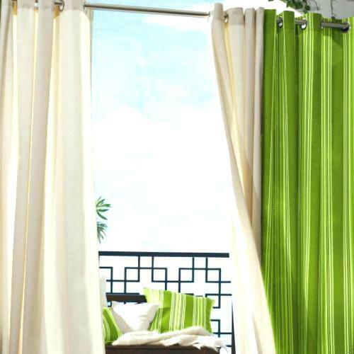 Indoor Outdoor Curtains – Wilmingtoncontractors Intended For Valencia Cabana Stripe Indoor/outdoor Curtain Panels (Image 9 of 25)