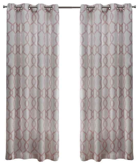 Featured Image of Kochi Linen Blend Window Grommet Top Curtain Panel Pairs