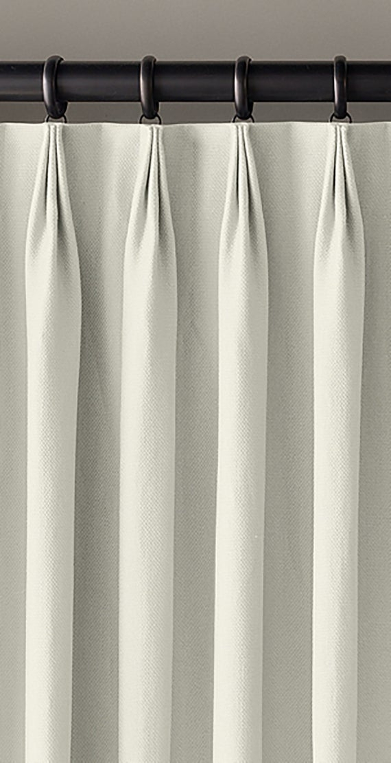 Linen Lined Drapes ~ Triple Top Pinch Pleat Custom Drapery Panels In Your  Choice Of Linen Pertaining To Double Pinch Pleat Top Curtain Panel Pairs (Image 14 of 25)