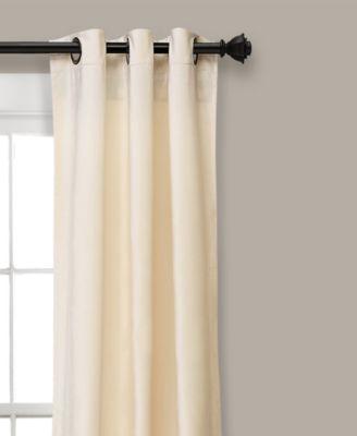 Lush Decor Prima Velvet Solid 84 X38 Room Darkening Window In Velvet Solid Room Darkening Window Curtain Panel Sets (Image 12 of 25)