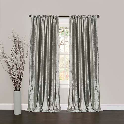 Featured Image of Velvet Dream Silver Curtain Panel Pairs