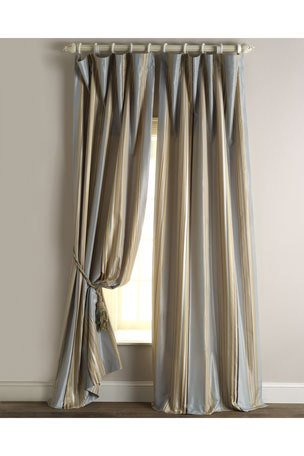 Luxury Curtains & Curtain Hardware At Neiman Marcus Inside Velvet Dream Silver Curtain Panel Pairs (Image 15 of 25)