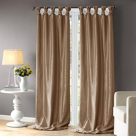"Madison Park Window Curtain 108"" Panel Bronze For Whitman Curtain Panel Pairs (Image 21 of 25)"