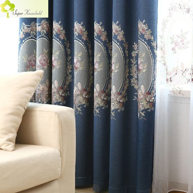 New Luxury Blackout Curtains For Living Room Faux Linen In Faux Linen Extra Wide Blackout Curtains (View 25 of 25)