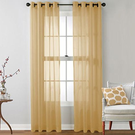 Outdoor Curtains – Peyan Romantic Tulle Voile Door Window Pertaining To Vina Sheer Bird Single Curtain Panels (Image 13 of 25)