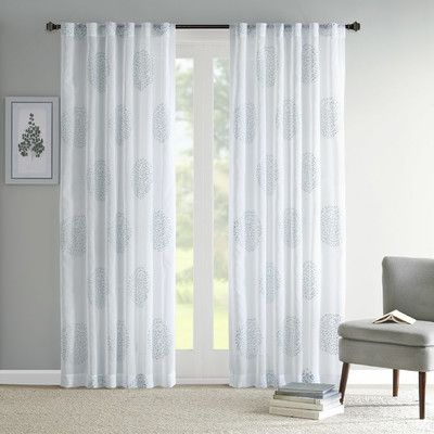 Pin On Hawaii Livin' Intended For Vina Sheer Bird Single Curtain Panels (Image 14 of 25)