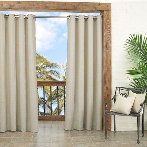 Pin On Pitch Curtains With Valencia Cabana Stripe Indoor/outdoor Curtain Panels (Image 12 of 25)