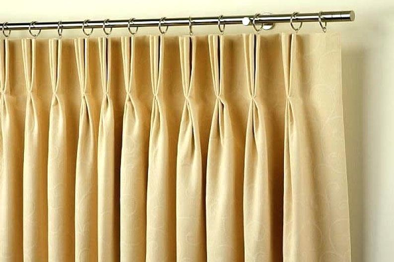 Pinch Pleat Curtain – Kingco (Image 19 of 25)