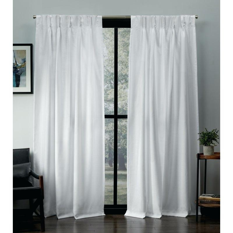 Pinch Pleat Curtains – Imaginesoft In Double Pinch Pleat Top Curtain Panel Pairs (Image 20 of 25)