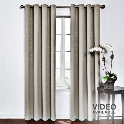 Pinterest In Davis Patio Grommet Top Single Curtain Panels (Image 14 of 25)