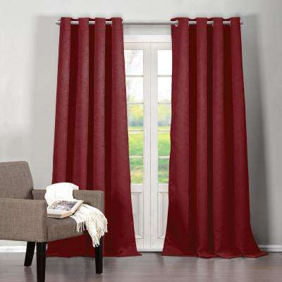 Red – Duck River – Curtains & Drapes – Window Treatments Regarding Dolores Room Darkening Floral Curtain Panel Pairs (Image 18 of 25)