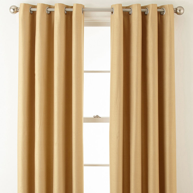 Royal Velvet Supreme Grommet Top Blackout Curtain Panel Within Velvet Heavyweight Grommet Top Curtain Panel Pairs (Image 18 of 25)