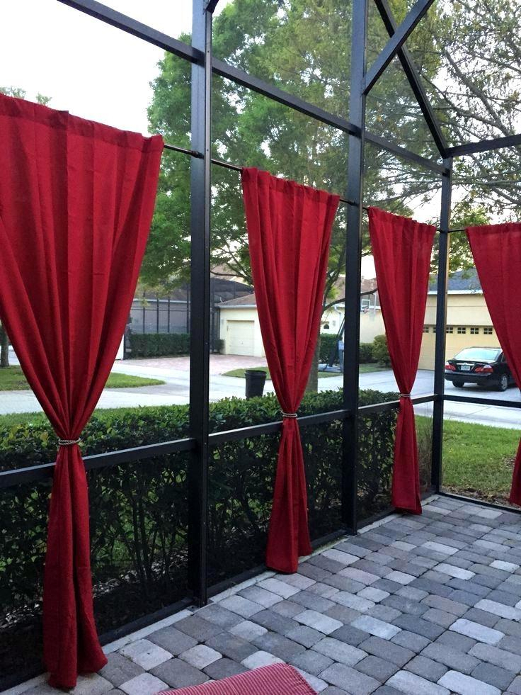 Scenic Striped Outdoor Curtains – Adaziaire (Image 14 of 25)