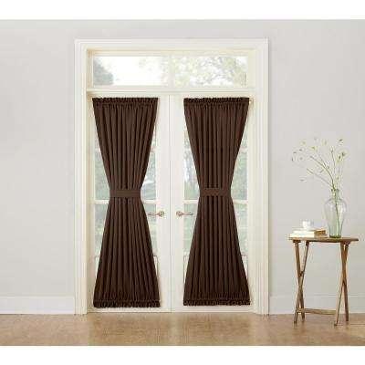 Semi Opaque Gregory Room Darkening Door Panel Intended For Hayden Grommet Blackout Single Curtain Panels (Image 16 of 25)