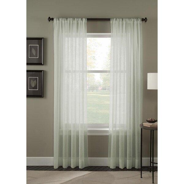 Sheer Crinkle Curtains | Wayfair (Image 22 of 25)
