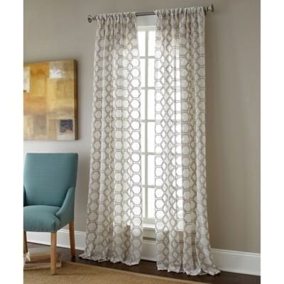 Sheer Curtain Panels With Designs – Proslimelt (Image 19 of 25)