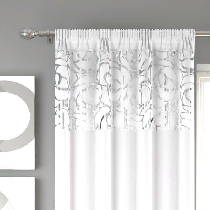 Sheer Voile Curtain Panels – Caleche (View 8 of 25)
