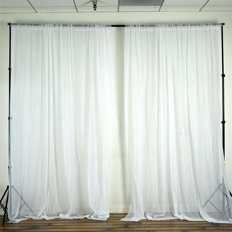 Sheer Voile Curtains – Horamite Throughout Emily Sheer Voile Single Curtain Panels (View 19 of 25)