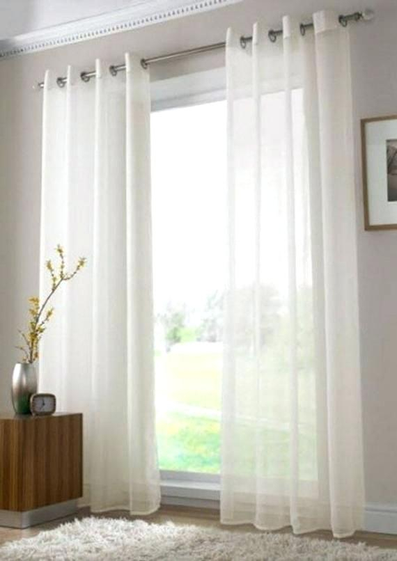 Sheer Voile Curtains Sheer Voile Curtains Eyelet Sheer Voile Pertaining To Emily Sheer Voile Single Curtain Panels (View 25 of 25)