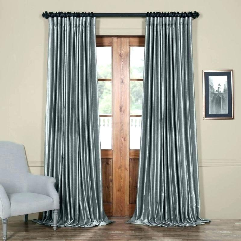 Silk Blackout Curtains – Diamond Sharp Within Overseas Faux Silk Blackout Curtain Panel Pairs (View 15 of 25)