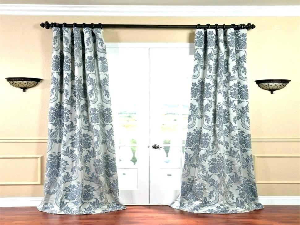 Silk Blackout Curtains – Visitrotterdam With Overseas Faux Silk Blackout Curtain Panel Pairs (View 6 of 25)