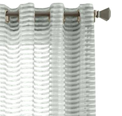 Studio Delano Grommet Top Sheer Curtain Panel X Within Delano Indoor/outdoor Grommet Top Curtain Panel Pairs (Image 24 of 25)