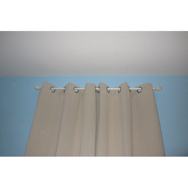 Sun Zero Curtains Reviews | Flisol Home Inside Hayden Grommet Blackout Single Curtain Panels (Image 17 of 25)