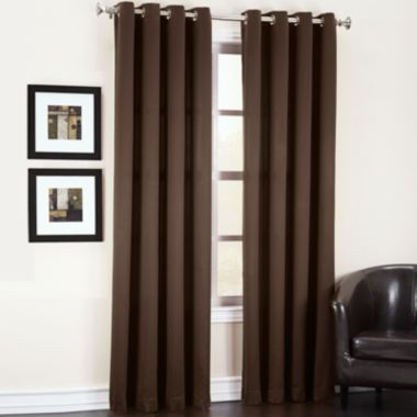 Sun Zero™ Garrett Room Darkening Grommet Top Curtain Panel Pertaining To Davis Patio Grommet Top Single Curtain Panels (Image 21 of 25)