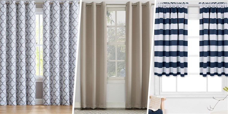 The 18 Best Blackout Curtains To Help You Sleep At The Night Within Warm Black Velvet Single Blackout Curtain Panels (Image 18 of 25)
