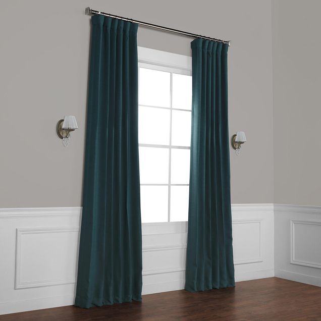 The Best Blackout Curtains For 2019: Reviewswirecutter For Warm Black Velvet Single Blackout Curtain Panels (Image 19 of 25)